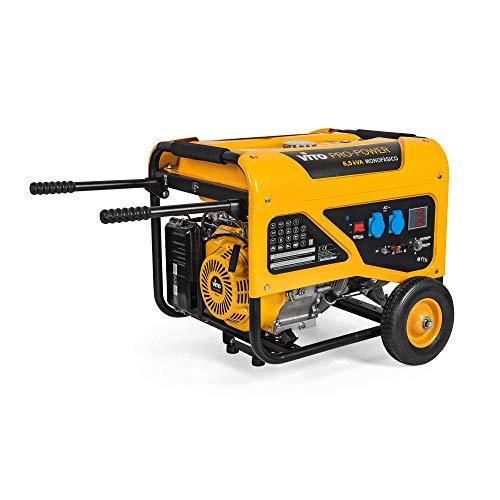VITO Professional Benzin Stromerzeuger 6,5 KVA 13PS 5500W (VIG65RL 6.5kVA)