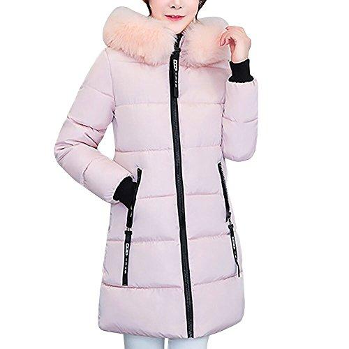 ZODOF eider chaqueta mujer Con Capucha Abrigo Plumas Largo Ultralight Plumon Chaqueta...