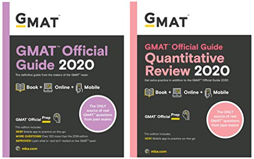 GMAT 2020 - Official Guide & Quantiative Review - Book + Online (Set of 2 books)