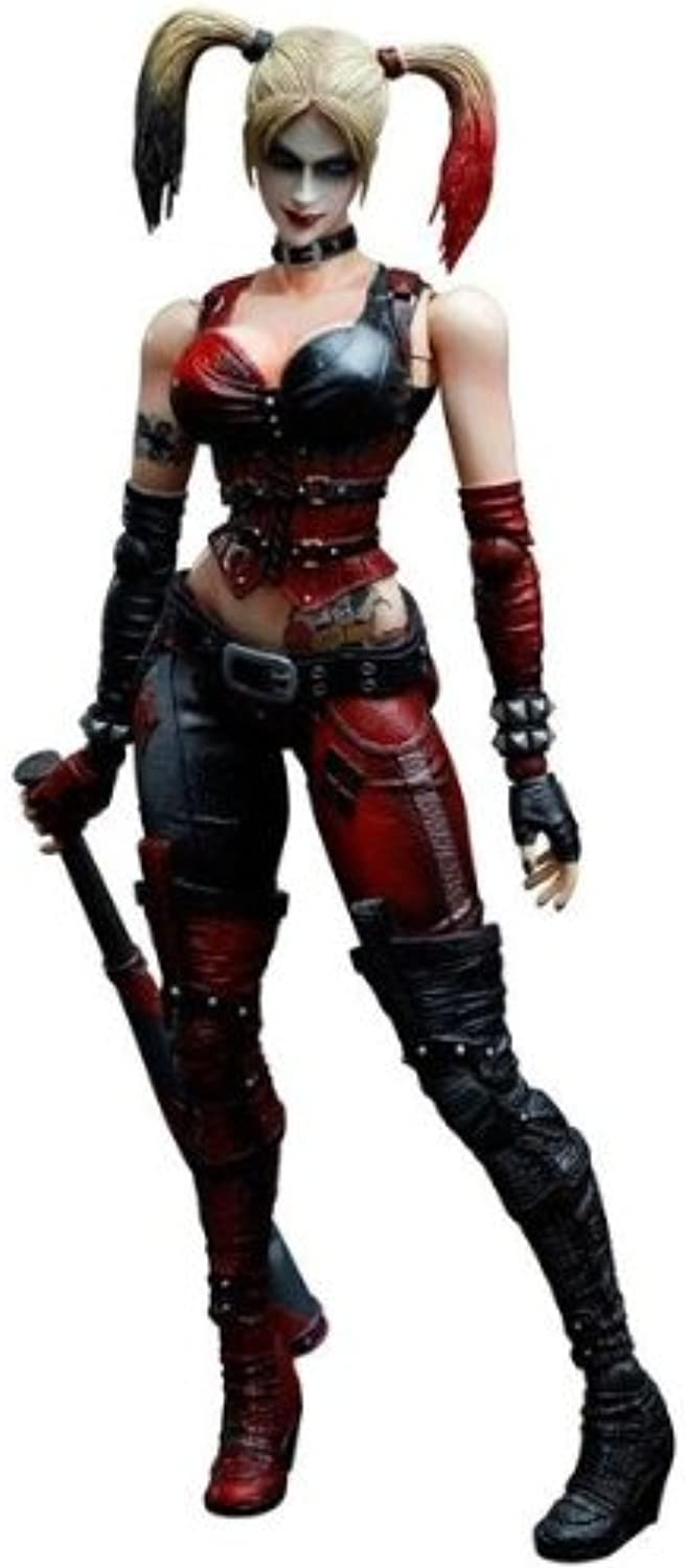 Batman Arkham City Play Arts Kai Actionfigur Harley Quinn 22 cm