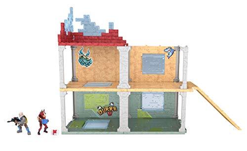Fortnite 63511 Battle Royale Collection Mega Fort y 2 figuras exclusivas de Tricera Ops y Blue Squire, multicolor… 2