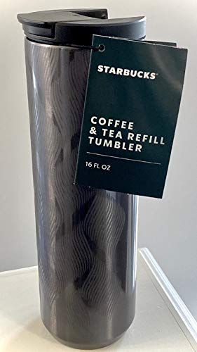 Starbucks 2020 Coffee And Tea Refill Double Walled Stainless Steel Tumbler, 16 Fl Oz