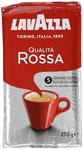 Lavazza Gemahlener Kaffee - Qualità Rossa - 1er Pack (1 x 250 g)