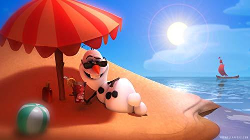 keletop 1000pcs Rompecabezas de Madera_HD Fondos de Pantalla Summer Funny_Puzzle Juego de Juguetes ensamblados Regalos para niños_50x75cm
