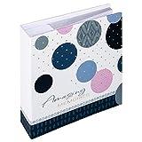 Walther Design Amazing Memories Album Foto, Blu, 200 Fotos 10x15 cm