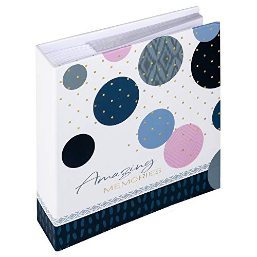 walther design ME-485-L Amazing Memories, Memo slip-in album 200 fotos 9x13 cm, azul