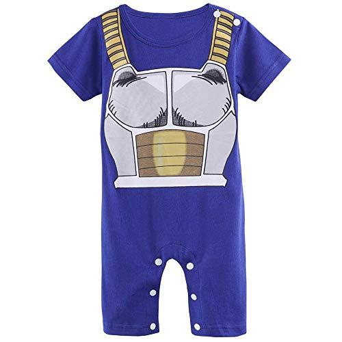 Sibaway – Body para bebé manga Super Hero | Body pijama para niño | Disfraz de dragón B |...