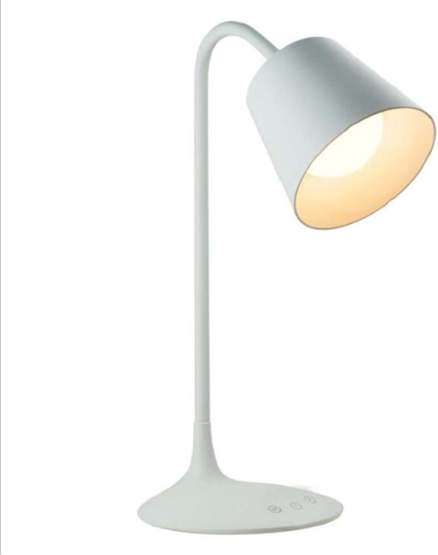 YFQH Led-tischlampe, Touch-tischlampe Mit Warmweiem Licht, Nachtlicht Und USB-ladeanschluss Für Studium, Lesen, Büro Und Schlafzimmer