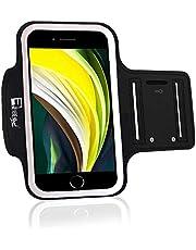 Premium iPhone SE 2020 Armband met Vingerafdruk Home Button Access. Sport Telefoonhouder Case voor hardlopen