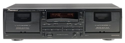 Pioneer CT-W404R Dual Cassette Deck (Discontinued by Manufacturer)