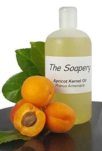 Huile de noyau d'abricot 500 ml - Produit cosmétique -Huile de support pour massage et aromathérapie