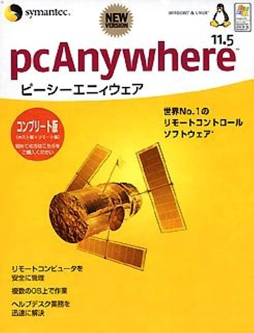 チャンバー着るオプショナル【旧商品】pcAnywhere 11.5 コンプリート版