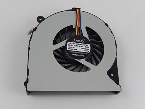 vhbw Ventilador CPU/GPU con Clavija de 4 Pines Compatible con Toshiba Satellite C870, C870D, C875, C875D Notebook, portátil - 5V / 0,28-0,5A