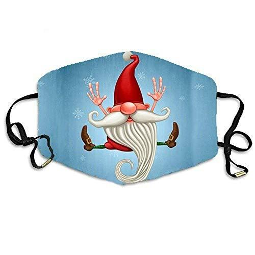 N / A Weihnachtsmasken für Männer und Frauen, persönliche staubdichte Baumwollmasken, Haushaltsmasken, Feiertags und Außenmasken können wiederholt verwendet Werden