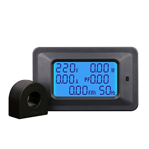 KKmoon 100A Medidor Voltaje Digital Medidor Energía