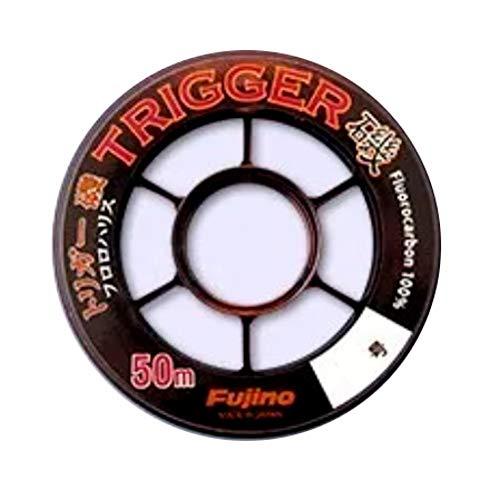 フジノ(Fujino) TRIGGER(トリガー)磯 フロロハリス 50m クリアー I-40 1.2号