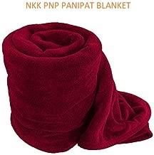 NKK PNP PANIPAT Manufactured Fleece Blanket- Double Bed Size