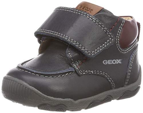 Geox Baby-Jungen B New BALU\' Boy B Sneaker, Blau (Navy/Bordeaux C4335), 23 EU
