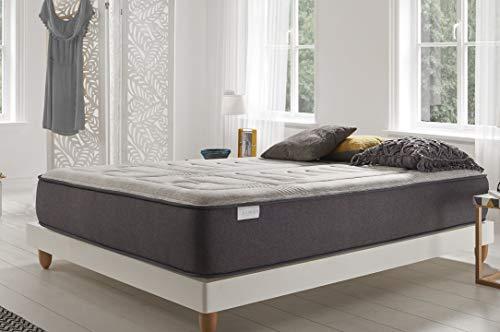 COSMOS | Jupiter | Colchón 90x190 Cm Extra-Confort Inigualable de 30 Cm | Descanso Optimizado con Núcleos FlexiMax | Adaptación Independencia de Zonas de Confort | Hipoalergénico