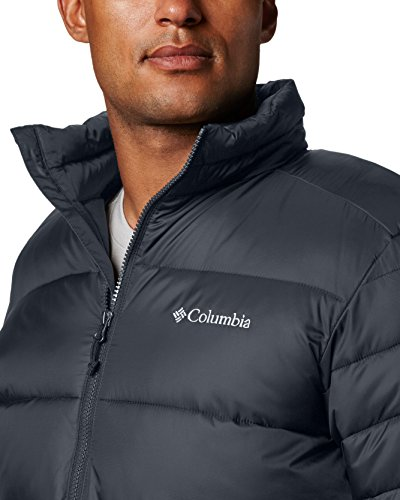 Columbia Men's Frost Fighter Insulated Warm Puffer Jacket, Graphite, XL