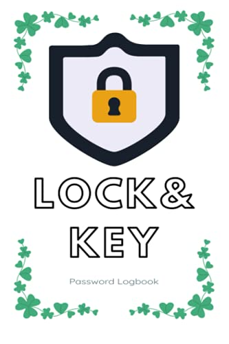 Lock & Key: Password Logbook