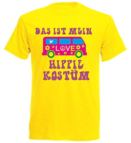 Disfraz de Hippie para Carnaval, Disfraz de JGA Amarillo S