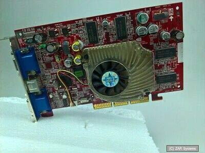 MSI GeForce 4 TI 4200 AGP 64MB DVI/VGA Retro Grafikkarte, TI4200-TD64 8870 Bulk