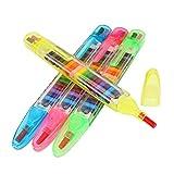 Uyuke 4PCS 20 Color Niños Pintura Color Bolígrafos Cera Crayón Bebé...