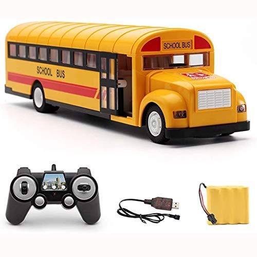 Children's speelgoed auto Boys Jongen En Meisje Rc School Bus 2.4G draadloze afstandsbediening High-speed Campus