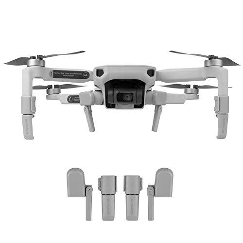 CMOM Landefüße Kompatibel mit DJI Mavic Mini RC Drone Extended Leg Quadrocopter Zubehör Faltbarer Erweiterte Fahrwerk Fuß Haltewinkel Heightning Landing Gear Beinschutz Drohnenschutz 2,5 cm