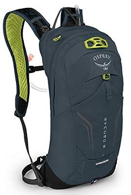 Osprey Syncro 5 Men's Bike Hydration Backpack, Wolf Grey