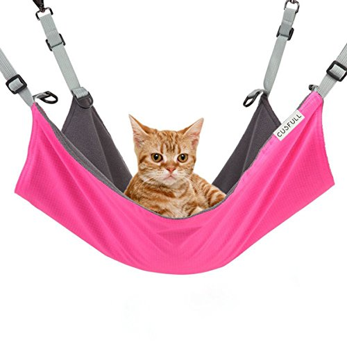 CUSFULL Cat Hammock Bed Comfortable Hanging Pet Hammock Bed