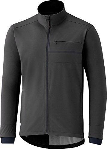 SHIMANO Giacca Sh Sshell Transit da uomo, Uomo, giacca, ECWJACWQS12MQ2, grigio, t, S