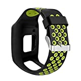 Tinaa Watch Strap Band Silicone Replacement Strap Wristband for TomTom 1 Multi-Sport GPS HRM CSS AM Cardio Runner Watch Accessories