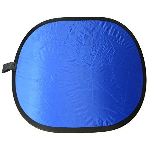 Cablematic reflectorscherm blauw en groene doek 200x150cm