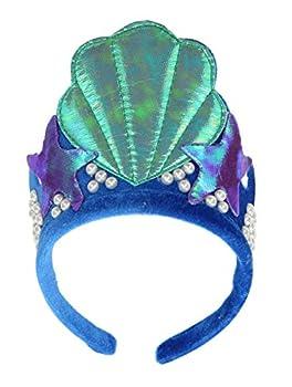 Mermaid Shell Costume Tiara Crown Headband