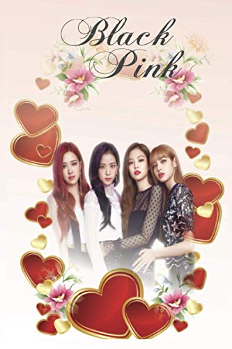 Blackpink: Notebook 120 pages | 6' x 9' | Collage Lined Pages | Journal | Diary | For Students, Teens, and Kids | For School, College, University, and Home, Gift