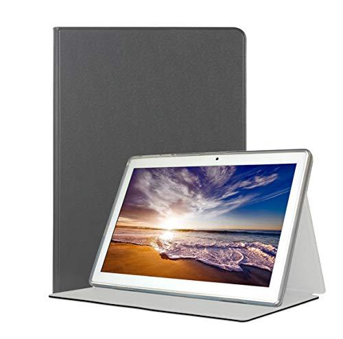 YGoal Funda para Meberry M7 -  Multiángulo PU Cuero con PC de Nuevo Folio Carcasa para Meberry M7 10 Pulgada,  Negro