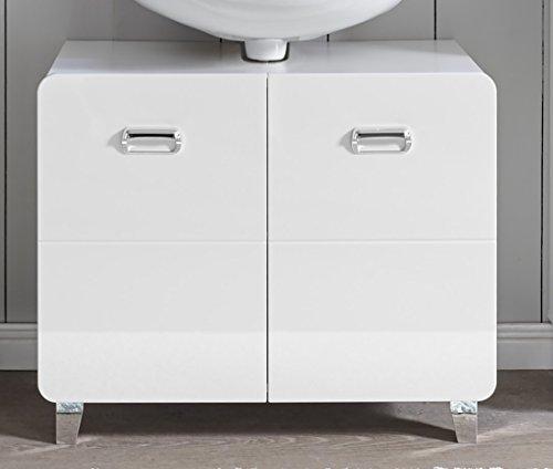Bega Stella Trading Kopenhagen - Armario para Lavabo (2 Puertas, 82 x 68 x 40 cm), Color Blanco