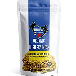 ✔ EASY to prepare already cleaned, Wild Harvested, 100% Pure DRIED Irish Moss 100g resealable SMART sunlight protected, easy storage packaging. Superior QUALITY LONG LIFE FRESH Sea Moss is a GOLDEN TAN colour NOT Brown or old looking with black spots...
