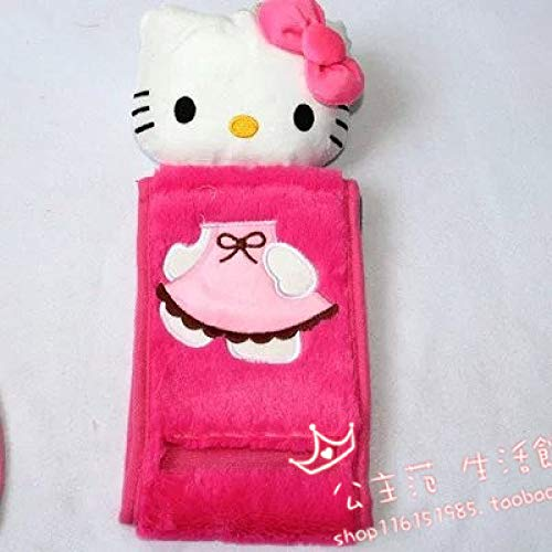 MHLBA La Alfombra 4pcs / Set Hello Kitty Conjunto de baño Tapa...