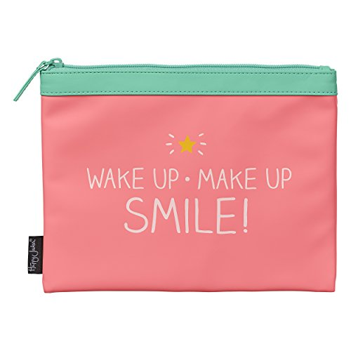 Happy Jackson Wake Up, Make Up, Smile! Bolsa | Coral
