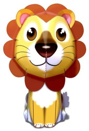 Lion Chic Animal Paper Craft Mini Model Easy Fun
