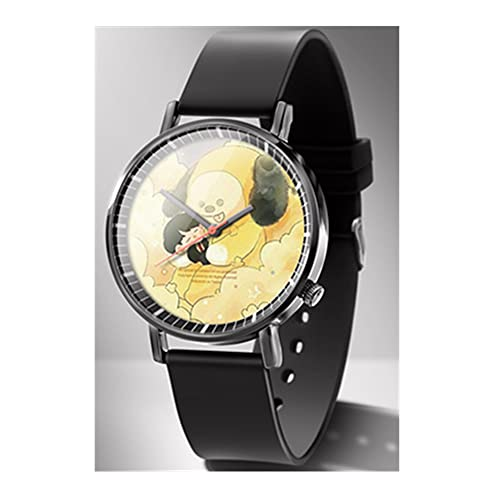 防弾少年団 腕時計 超薄型 軽量 クオーツ腕時計 格好良い 亜鉛合金ケース ステンレス製のブレスレット シンプル腕時計 クラシックウオッチ 人気韓流 応援グッズ お祝い プレゼント 男女兼用(犬)