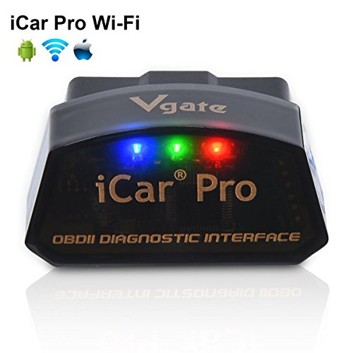 Vgate iCar Pro Wi-Fi OBD2 OBDII Auto Diagnose-Tool Check Engine Licht für iOS iPhone iPad/Android Kompatibel mit ELM327 Adapter