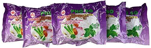 Vifon Beef Flavor Soup Instant Pho Noodle Soup, Beef Flavour ( Pack of 12), 25.2 Ounce