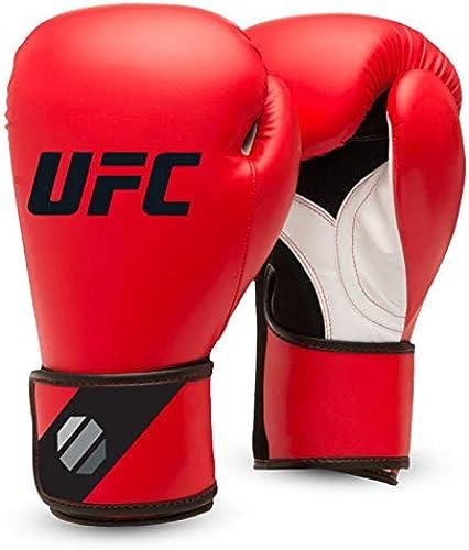 UFC Gants de Boxe pour Homme Rouge Noir 14 oz