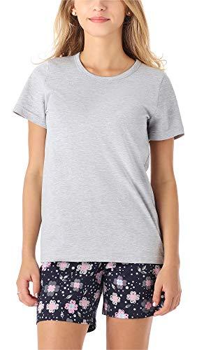Merry Style Mädchen Jugend Schlafanzug MS10-265(Melange Blumen, 158)
