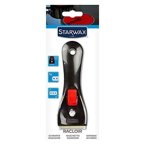 STARWAX Racloir pour Vitroceram & Induction - 1x - Idéal pour Nettoyer une Plaque en Vitrocéramique ou Induction