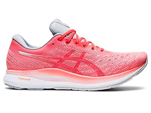 ASICS Women's EvoRide Running Shoes, 8M, Sun Coral/Flash Coral